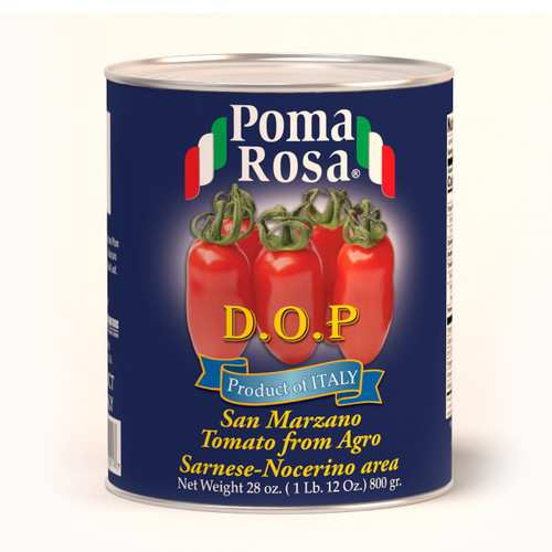 San Marzano Tomato, Pomodori San Marzano, Dop, Poma Rosa, Sarno, 28 oz (800 g)