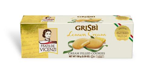 Lemon Cream Cookies, Grisbi, Italy, 5.29 oz (150 g)