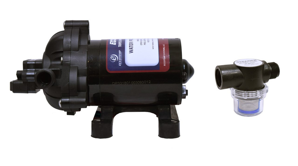 EccoFlo Pump with Strainer