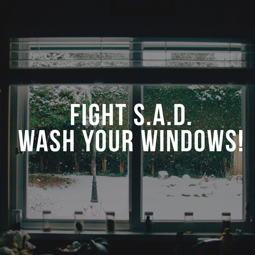 Fight S.A.D. Wash your Windows!