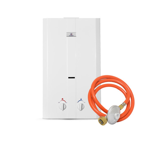 Eccotemp CE-L10 Portable Outdoor Tankless Water Heater, 50 mbar