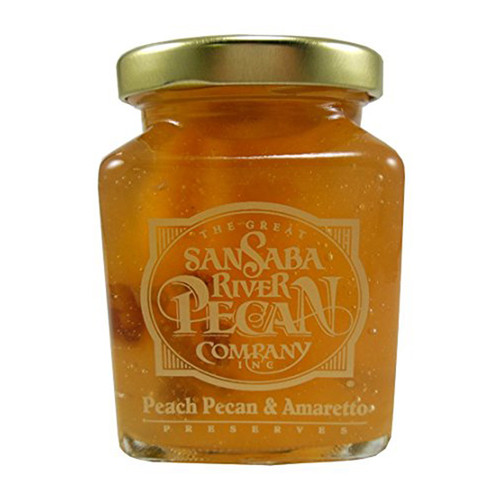 Peach Pecan Amaretto Preserves
