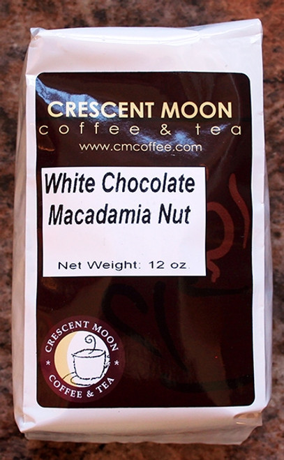 White Chocolate Macadamia Nut Coffee by Crescent Moon