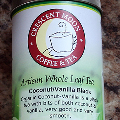 Coconut Vanilla Black Tea by Crescent Moon