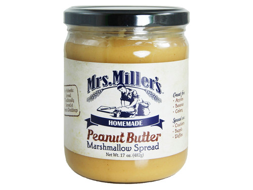 Mrs. Miller's Peanut Butter Marshmallow Spread LARGE