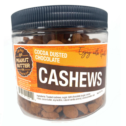 Cocoa Dusted Chocolate Cashews - Large