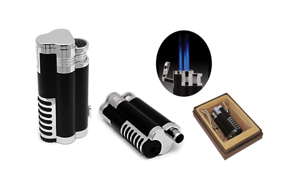 Cyclone Triple Flame Torch Lighter