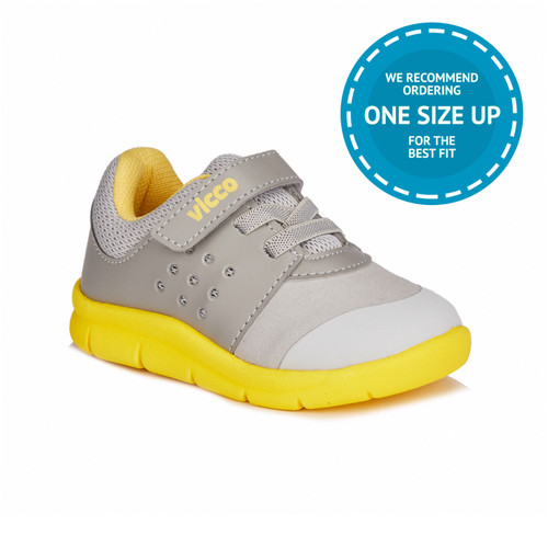 Mario II Grey-Yellow