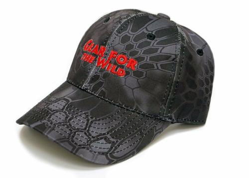 Logo Ball Cap, Kryptek Typhon Black