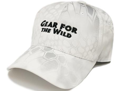 Logo Ball Cap, Kryptek Yeti White