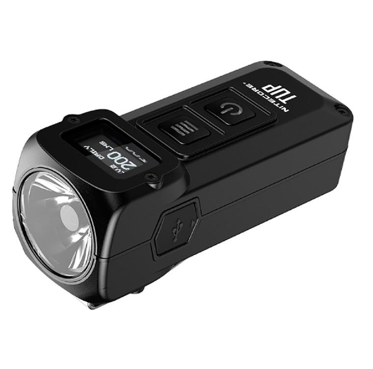 Nitecore TUP 1000 Lumen RCHRGBL Keychain Flashlight Black