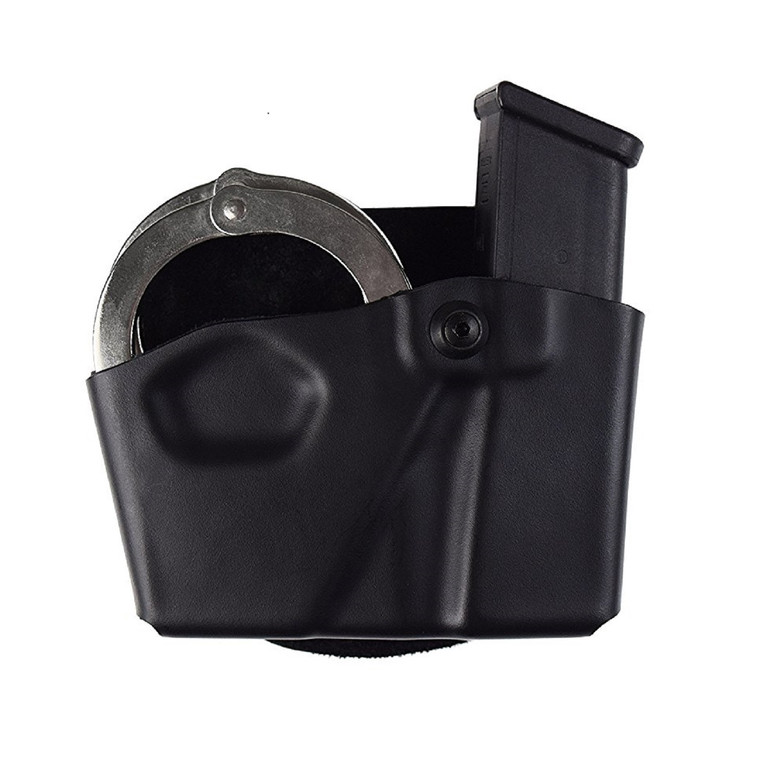 Safariland 573 Open Top Mag and Handcuff Pouch Black Size 5 - 1129099