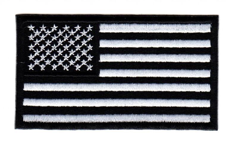 American Flag (Black and White)