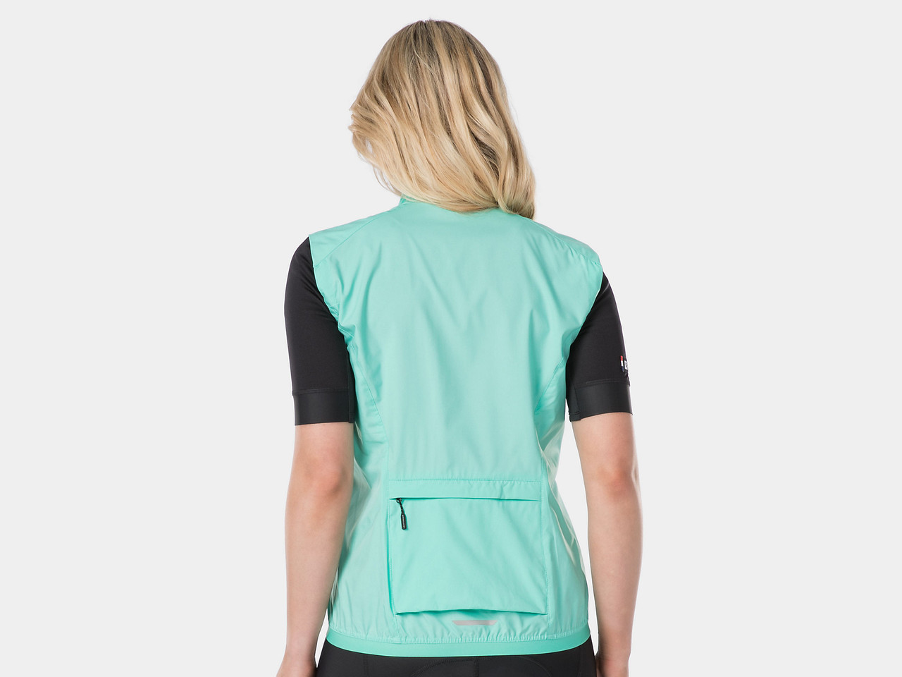 Bontrager Circuit Women's Windshell Cycling Vest - Miami Green