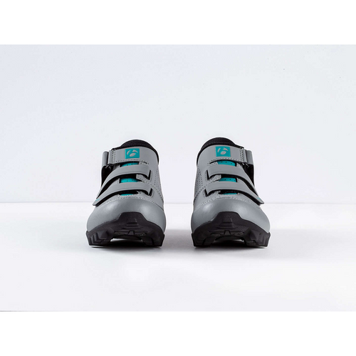 Bontrager Adorn Women's Mountain Shoe - Gravel/Teal