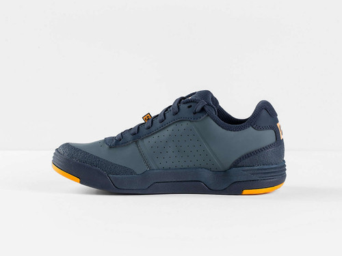 Bontrager Flatline Mountain Shoe - Battleship Blue/Marigold