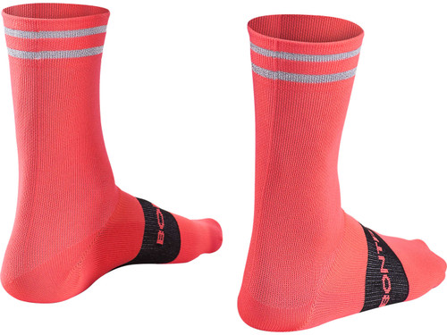 Bontrager Halo Crew Cycling Socks - Radioactive Pink