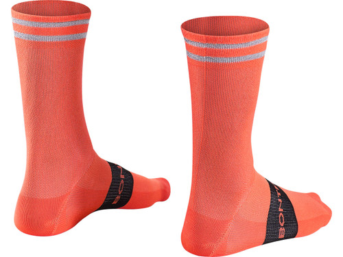 Bontrager Halo Crew Cycling Socks - Radioactive Orange