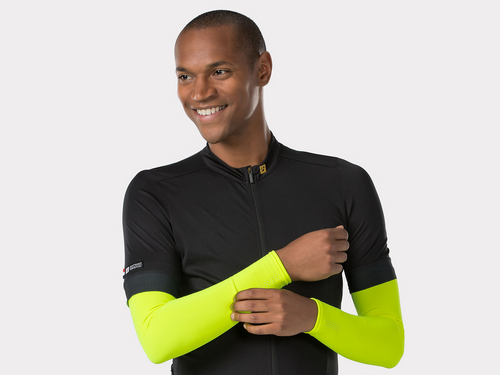 Bontrager Thermal Cycling Arm Warmer - Radioactive Yellow