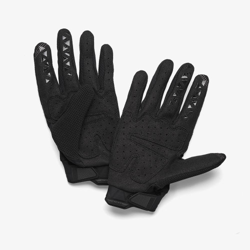 100% Airmatic Gloves - Black/Charcoal