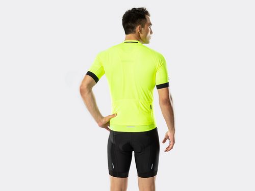 Bontrager Circuit Cycling Jersey - Visibility Yellow