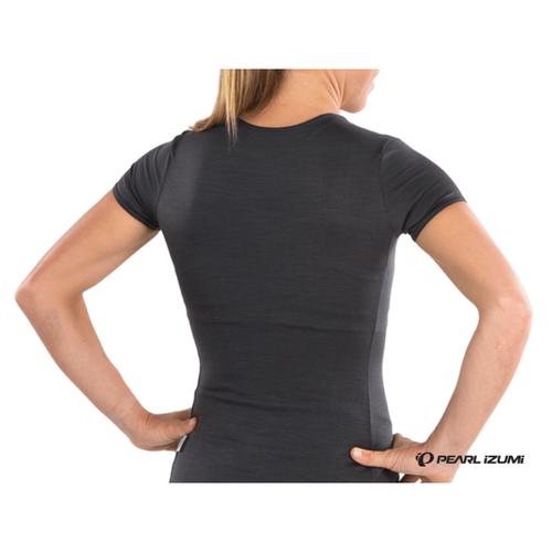 Pearl Izumi Women's Merino Short Sleeve Baselayer - Black