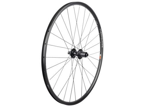 Bontrager Wheel TLR Disc Thru Axle CL-712 28H Wheel, Black Rear, Shimano/SRAM Road 9/10/11-speed