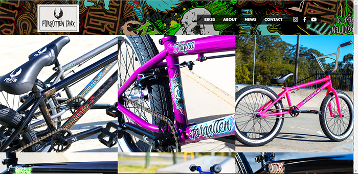 Forgotten BMX Website