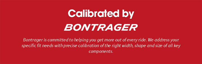 Calibrated by BONTRAGER