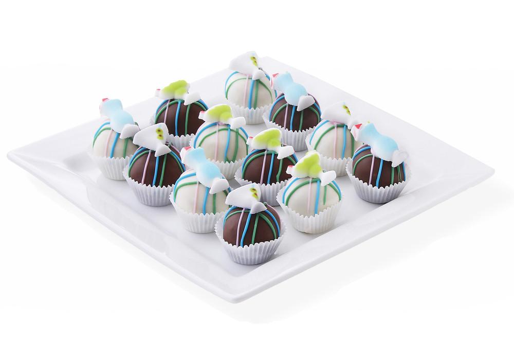 Sassy cocktail cake balls
