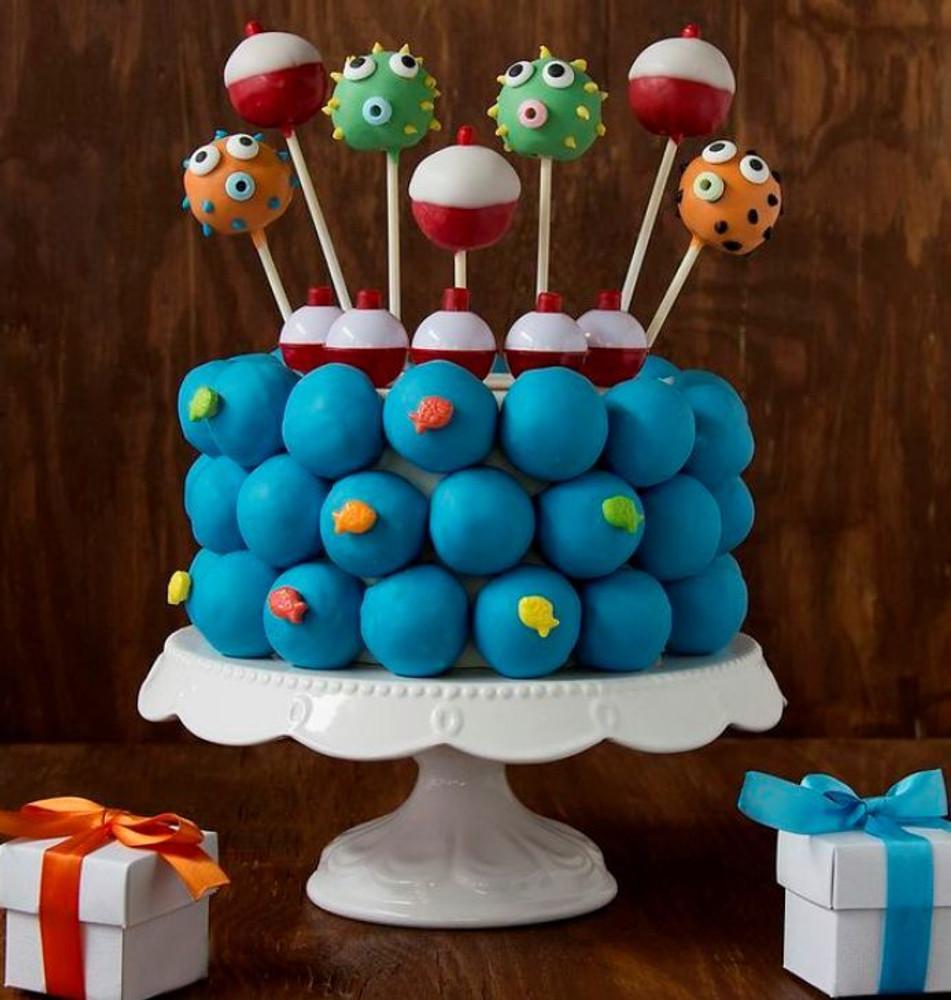 Custom Cake Bite Cake