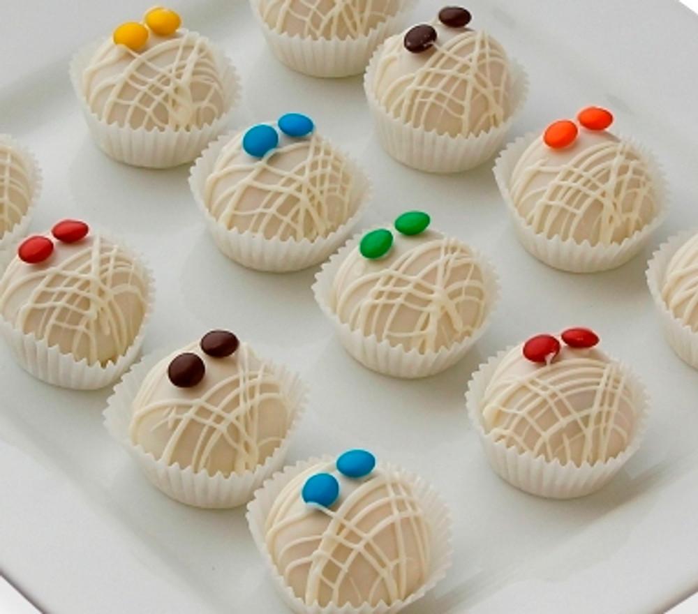 Delicious mummy cake balls!