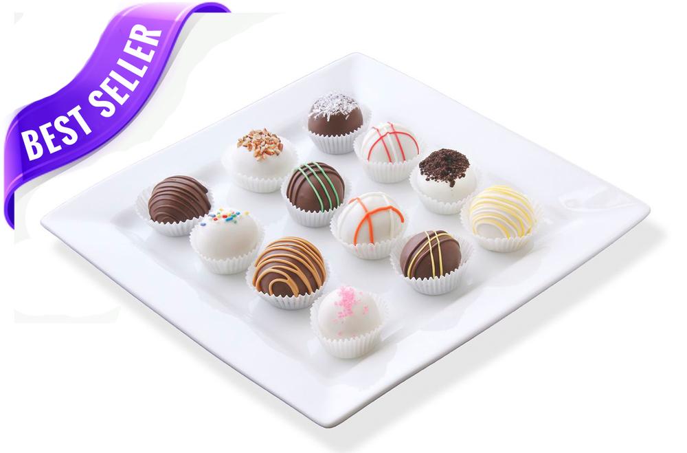 Delicious cake balls by Cake Bites