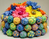"Colorful Fiesta Cake Bites ""cake"""