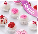 Valentine's Day cake bites