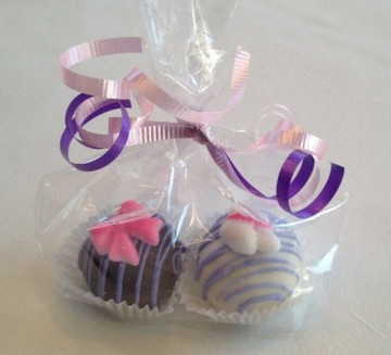 Set of 2 Wrapped Party Favors (Minimum 6 Sets)
