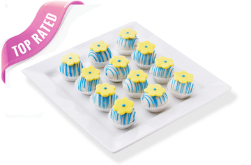 Flower cake balls, perfect for Mother's Day!