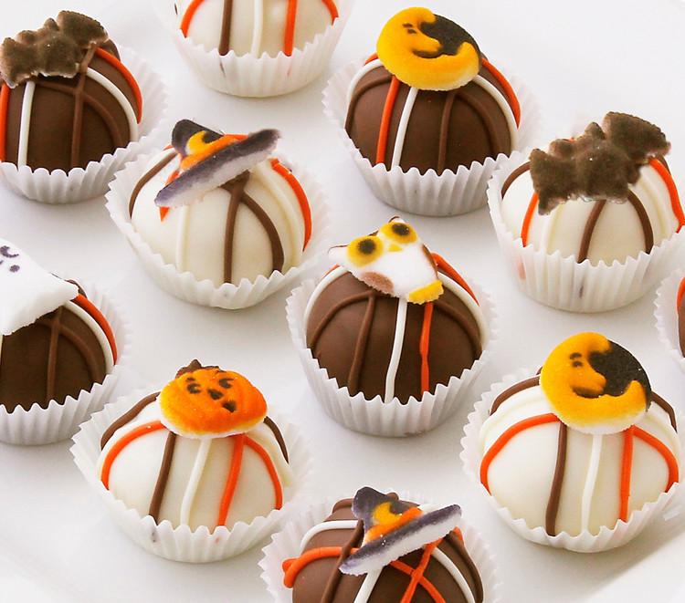 Halloween cake balls