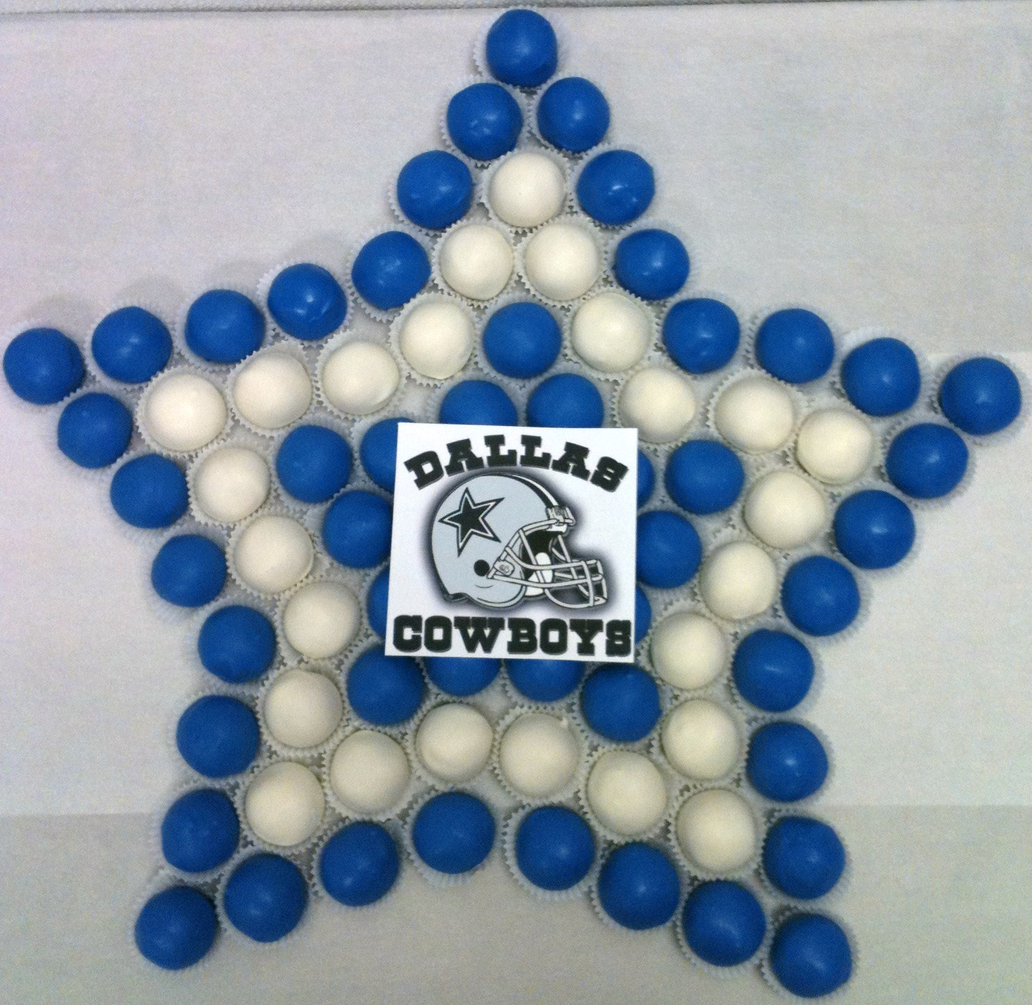 Dallas Cowboys Shape Cake