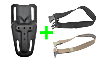 HW Holsters Mid Ride KIT (with strap )