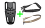 HW Holsters Mid Ride KIT (with strap)