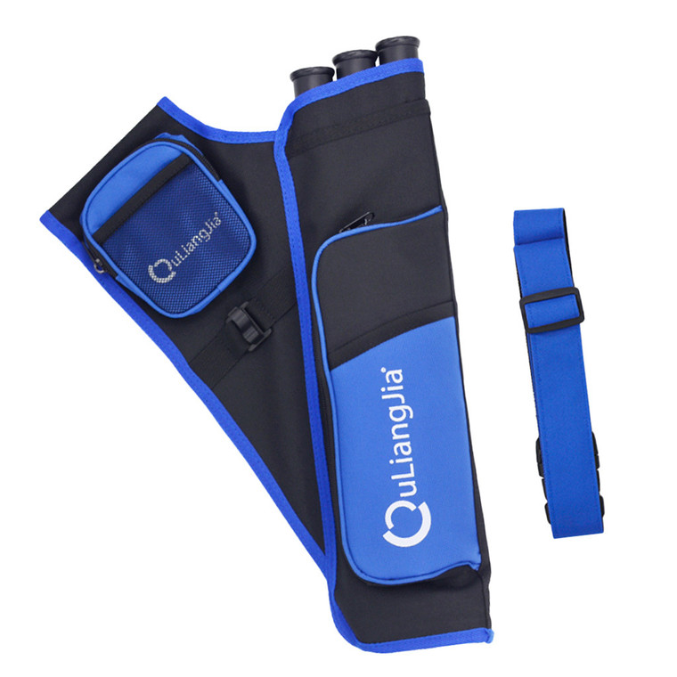 Quliangjia 3 Tube Hip Quiver With Belt - Archery Source Canada