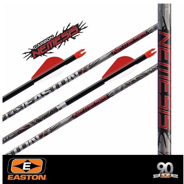 Easton Nemesis Hunting Arrows - Archery Source Canada
