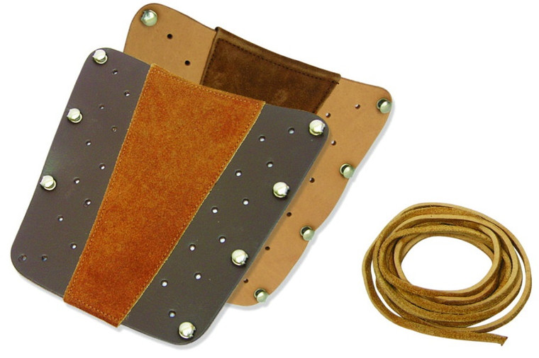 Genuine Leather and Suede  Armguard - Archery Source Canada