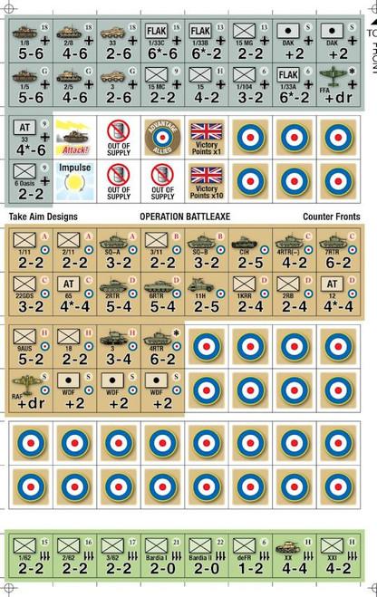 Operation Battleaxe Counters