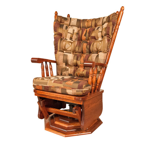 Amish Handcrafted NP160 Swivel Glider