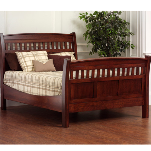 Amish Handcrafted Queen Rake Bed