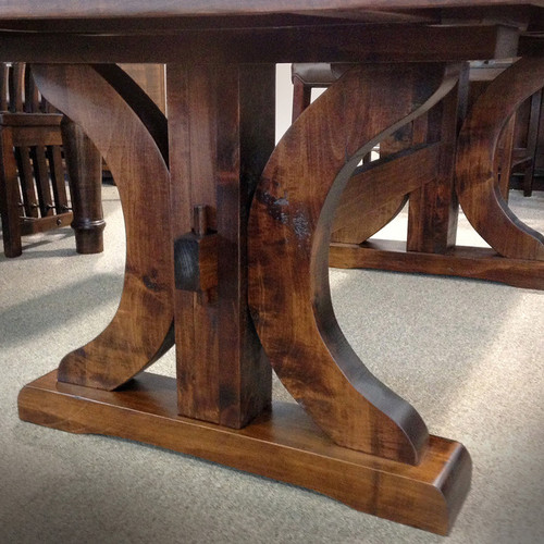 Amish Handcrafted Rustic Carlisle Table Base