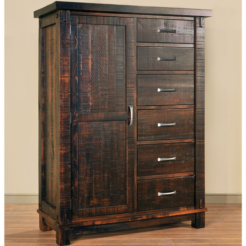 Amish Handcrafted Timber Man's Chest