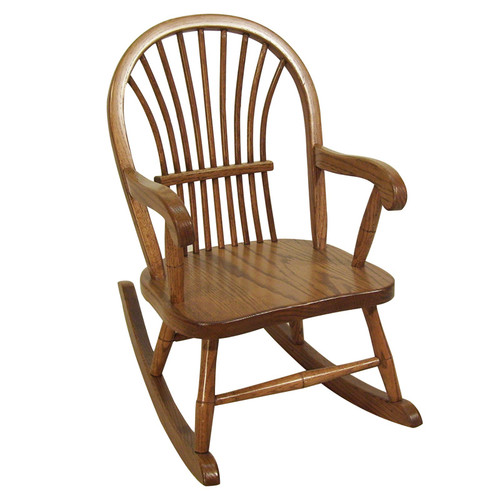hardwood Sheaf Child's Rocker | Southern Outdoor Living in Kentucky